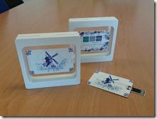 PQR USB credit card 2 GB 'Delfts Blauw'